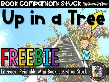 """Up in a Tree! Mini-Book based on Oliver Jeffers """"Stuck"""" {PreK-2}"""