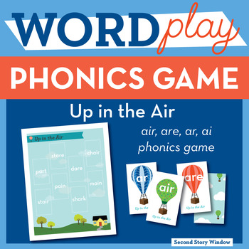 Up in the Air ar, air, are, ai Phonics Game