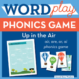 Up in the Air r controlled ar, air, are, ai Phonics Game -