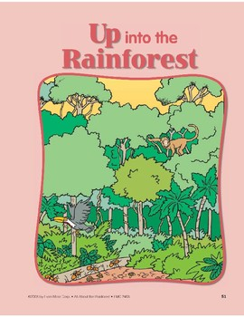 Up into the Rainforest: Circle-Time Book