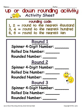 Up or Down Rounding Activity