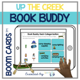 Up the Creek Book Companion   Boom Cards™️ Deck   Teletherapy