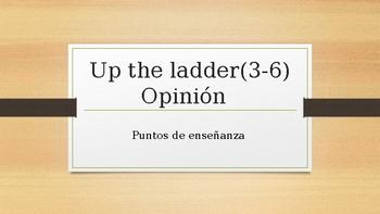 Up the Ladder Spanish Teaching points Presentation