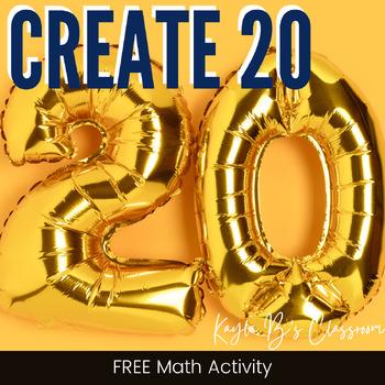 Up to 20: A Math Freebie