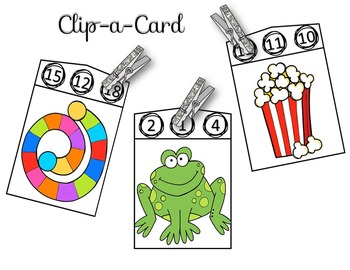 Up to 20 Counting Clip-a-Card