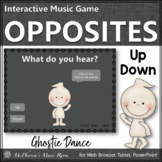 Fall Music Game ~ Melodic Direction Up Down Interactive Music Game {Ghostie}
