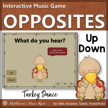 Up vs Down - Turkey Dance Interactive Music Game {melody}