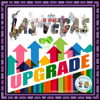 Upgrade Your Las Vegas Game Board for More Writing & Speaking Fluency Practice!