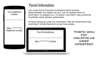 Update parent contacts