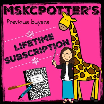 Lifetime Subscription for Previous Buyers