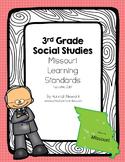 Updated 3rd Grade Missouri Learning Standards for Social Studies