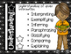 Updated Bloom's Taxonomy Posters Horizontal