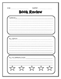 Updated Book Review Writing Paper