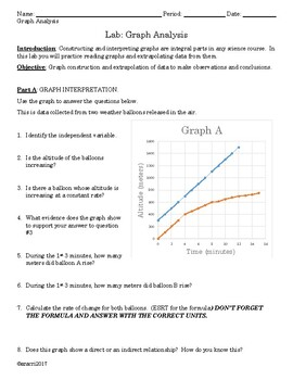 Updated Earth Science lab on Graph Analysis