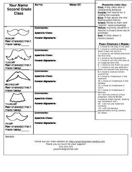Updated Mustache Behavior Sheet