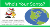 Updated Who's Your Santa Christmas Around the World With Bitmoji Classrooms