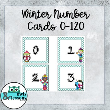 Updated Winter Numbers 1 to 120