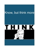 Updating Education:  know, think more