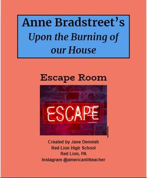 Anne Bradstreet Upon the Burning of our House Escape Room