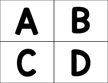Upper Case ABC Flashcards