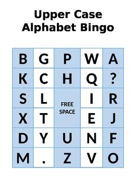Upper Case Alphabet Bing