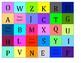 Upper Case Alphabet Bingo