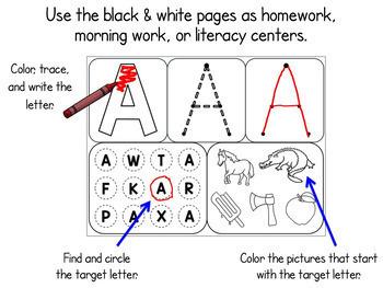 Interactive Alphabet Activities + Printables