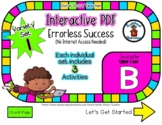 Upper Case B Set #1 - Interactive PDF - 3 Digital Activiti
