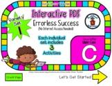 Upper Case C Set #1 - Interactive PDF - 3 Digital Activiti