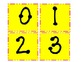 Upper Case Dot to Dot Letters in Black on Yellow