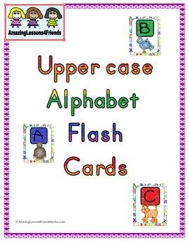Upper Case Flash Cards