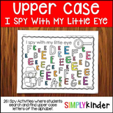 Upper Case I Spy Activities