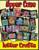 26 Upper Case Letter Crafts Ready to Use