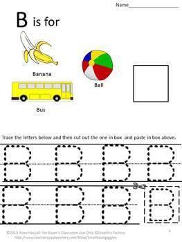 Alphabet Upper Case No PREP Letter Tracing Printables