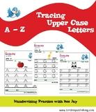 Upper Case Letters Handwriting practice