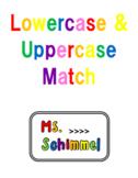 Upper Case & Lower-Case Letter Matching
