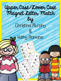 Upper Case Lower Case Magnet Letter Match