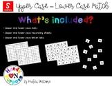 Upper Case - Lower Case Match - Spanish Version