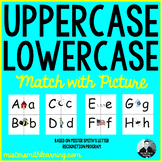 Upper Case Lowercase Match (with Letter Recognition Pictures)