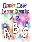 Upper Case Stencils (Large) A-Z