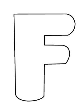 Upper Case Stencils (Large) A-Z
