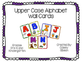 Upper Case Wall Cards