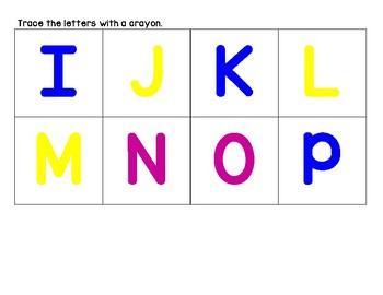Upper Case and Lower Case ABC Matching Game