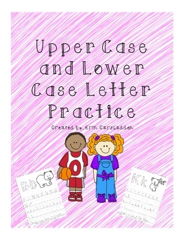 Upper Case and Lower Case Handwriting