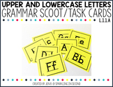 Upper Case and Lower Case Letter Practice Scoot