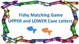 Upper Case and Lower Case Letters: Fish Matching Game