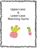 Upper-Case and Lower-Case matching game