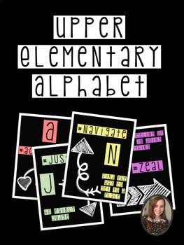 Upper Elementary Alphabet