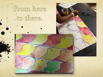 Upper Elementary Art Lessons: Escher Tessellations and Printmaking inc Marzano