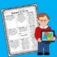 Upper Elementary Biography Tic Tac Toe - Choice Board